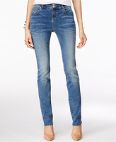 INC International Concepts Curvy-Fit Sail Wash Straight-Leg Jeans, Only at Macy's