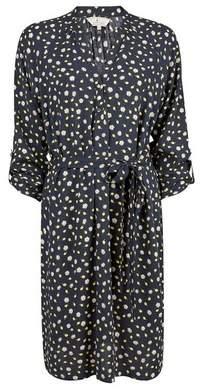 Dorothy Perkins Womens **Billie & Blossom Navy Lemon Print Shirt Dress