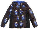 Fendi Reversible Nylon Hooded Puffer Jacket