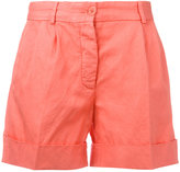 Aspesi folded hem shorts - women - Cotton - 40