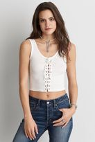 American Eagle Outfitters AE Lace-Up Front Tank