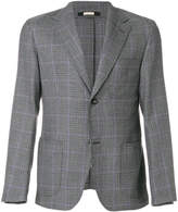 Massimo Alba notched lapel houndstooth blazer