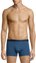Derek Rose Star-Print Hipster Boxer Briefs, Navy