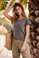 Free People Fp Movement Roll It Up Buttercup Active Tee by FP Movement at