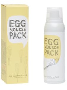 Too Cool for School Egg Mousse Pack 100Ml