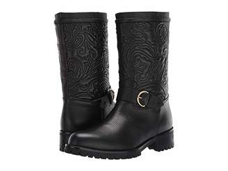 Etro Embroidered Boot (Black) Women's Shoes