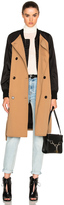 3.1 Phillip Lim Bomber Trench Coat