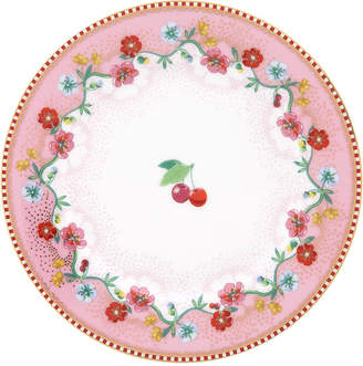 Pip Studio Floral 2.0 Cherry Side Plate - Pink