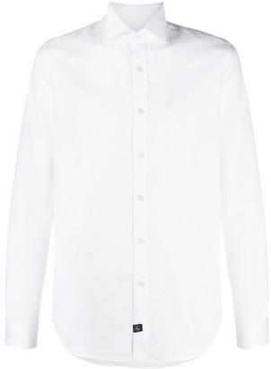 Fay Spread-Collar Long-Sleeve Shirt