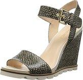 Nine West Women's Gronigen Synthetic Wedge Sandal