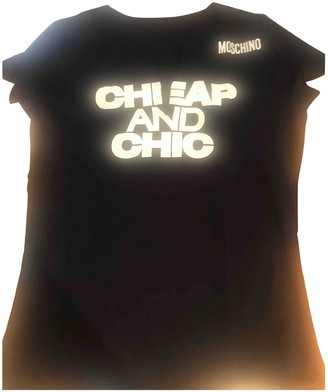 Moschino Cheap & Chic Moschino Cheap And Chic Black Cotton Top for Women