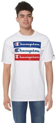 Champion Graphic Short Sleeve T-Shirt - White / Red