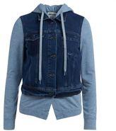 Semi-Couture Giubbino Semicouture Jaxon In Denim E Cotone