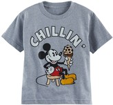 "Disney Disney's Mickey Mouse Boys 4-7 ""Chillin"" Graphic Tee"