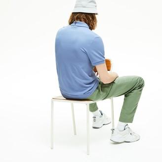 Lacoste Men's -Branded Cotton Polo Shirt