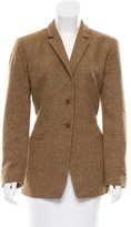 Calvin Klein Collection Cashmere Tweed Blazer