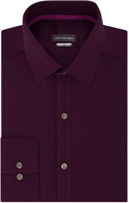 Van Heusen Men's Vivid Slim-Fit Stretch Dress Shirt