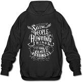 Sune Men's Supernatural American Saving People Hunter Thing Tv Hoody