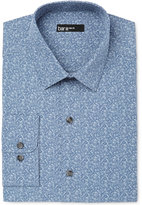 Bar III Men's Slim-Fit China Blue Floral Dress Shirt, Created for Macy's