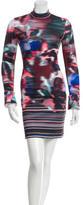 Clover Canyon Printed Bodycon Dress