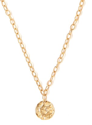 Tess + Tricia Coin Pendant Necklace