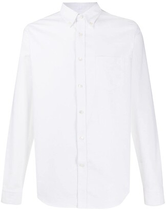 Closed Long-Sleeve Fitted Shirt