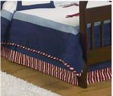 JoJo Designs Sweet Vintage Aviator Toddler Bed Skirt