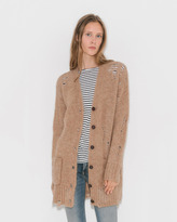 camel wool cardigan - ShopStyle UK