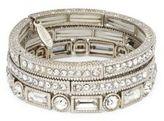 Natasha Goldtone Crystal Bangle Bracelet