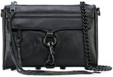 Rebecca Minkoff chain strap crossbody bag - women - Cotton/Leather - One Size