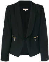 MICHAEL Michael Kors classic fitted blazer - women - Polyester/Spandex/Elastane/Viscose - 2