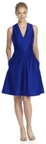 Alfred Sung D610 Bridesmaid Dress in Royal