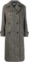 Stella McCartney chevron button-up coat