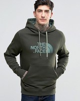 The North Face Hoodie With Tnf Logo In Green