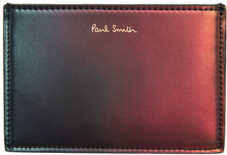 Paul Smith Green and Red Gradient Card Holder