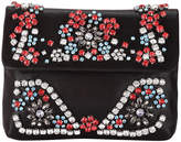 Adrianna Papell Shimmery Crossbody Bag with Rhinestones