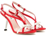 Miu Miu Satin Sandals