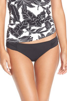 Tommy Bahama Side Shirred Hipster Bikini Bottoms