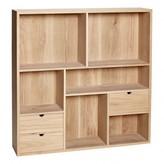 Hébsch Wall-mounted 3-drawer Shelf