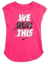Nike Girl's We Run This Tee