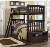 Hillsdale Kids and Teen Highlands Harper Twin/Twin Bunk Bed in Espresso