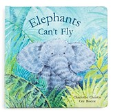 Jellycat Elephants Can't Fly Book - Ages 0+