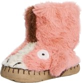 Little Blue House by Hatley Toddler Kids Hi-Top Slouch Animal Slipper