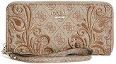 GUESS Factory Arianna Zip-Around Wallet