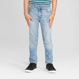 Cat & Jack Boys' Skinny Fit Jeans Light Blue