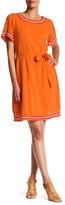 Tommy Bahama Embellished Short Sleeve Dress
