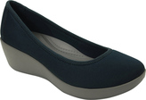 Crocs Women's Busy Day Stretch Ballet Wedge