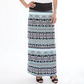Apt. 9 Women's Geometric Maxi Skirt