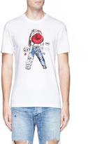 Denham Jeans 'Sake Wash' print T-shirt