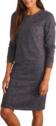 Boden Crewneck Sweatshirt Dress